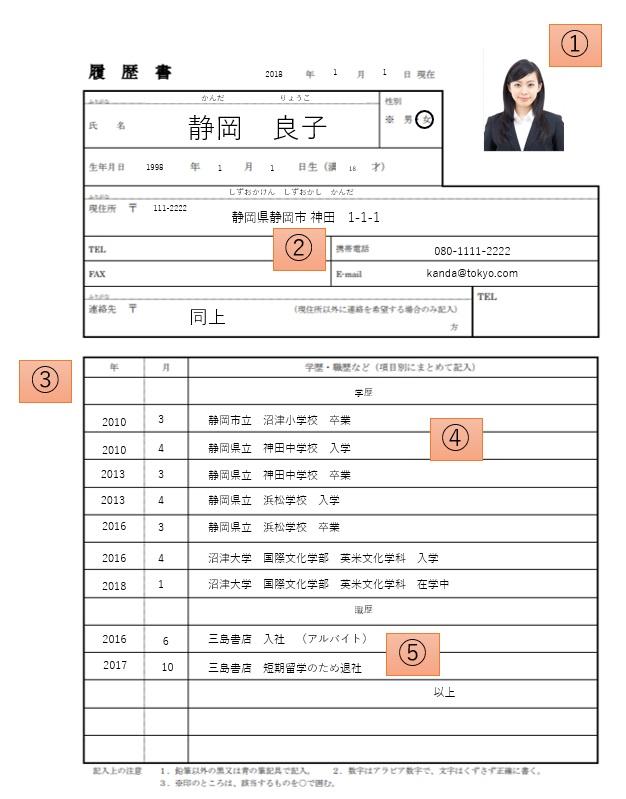 バイト履歴書」の書き方完全マニュアル|DOMO+(ドーモプラス)